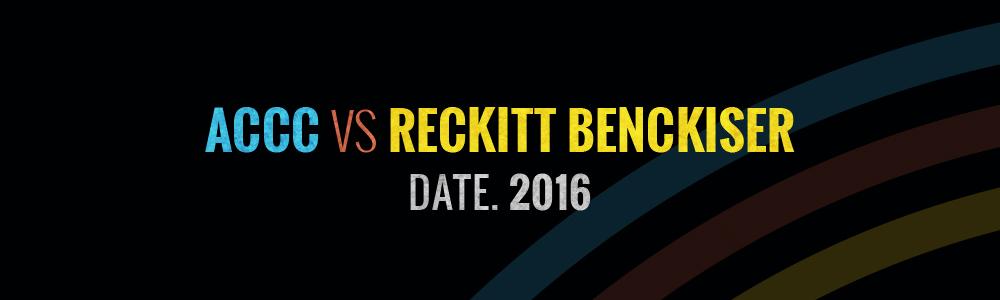 ACCC vs Reckitt Benckiser