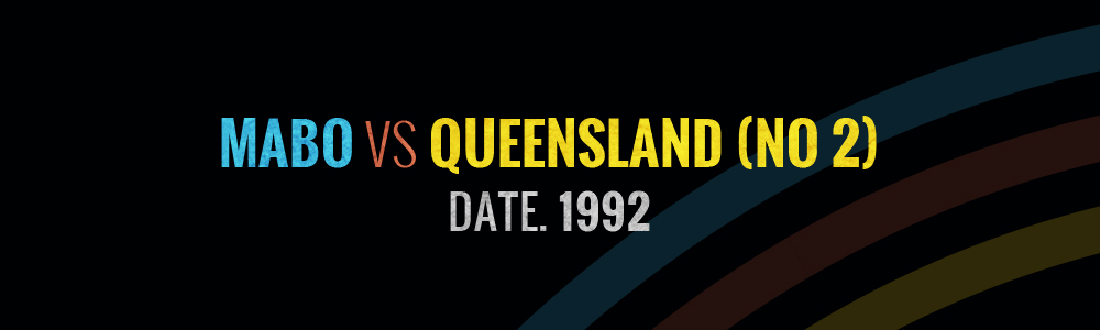 Mambo vs Queensland