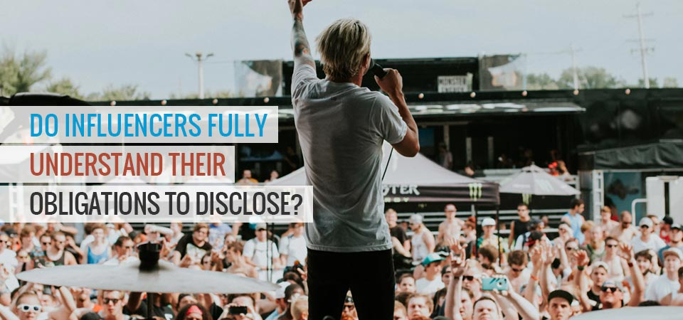 Influencer Disclosure